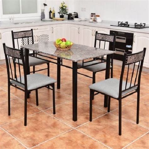 marble breakfast table sets 7 adorable inexpensive dining room sets that are worth to buy
