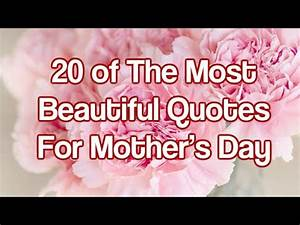 20 of The Most Beautiful Quotes For Mother's Day - YouTube