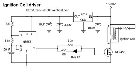 Ignition Coil Driver Schematic Electronics