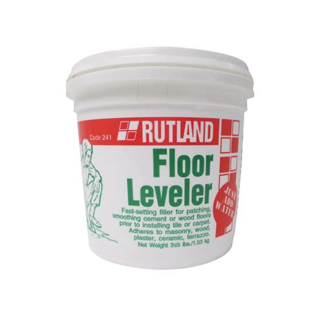 Floor Leveler Home Depot by Rutland 3 1 2 Lbs Floor Leveler Tub 241 The Home Depot