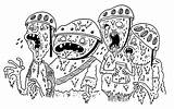 Slime Coloring Pages Drawing Getdrawings sketch template