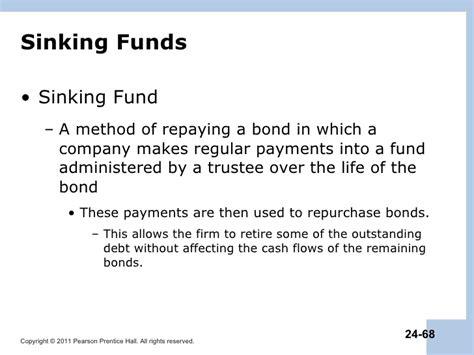 define sinking fund bond berk chapter 24 debt financing