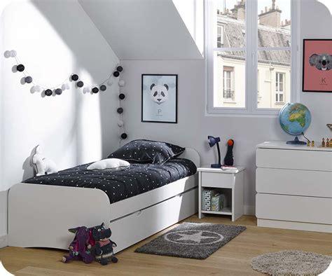 meubles chambre enfants chambre enfant twist blanche set de 3 meubles
