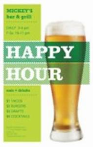 happy hour menu templates and designs musthavemenus With happy hour menu template