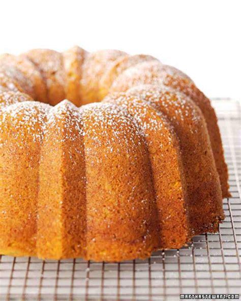 pumpkin spice bundt cake recipe video martha stewart