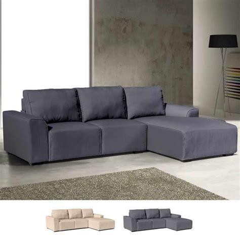divani penisola divano angolare 3 posti con penisola braccioli in tessuto