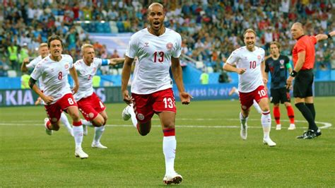 Denmark Croatia Set World Cup Record For Fastest Goals