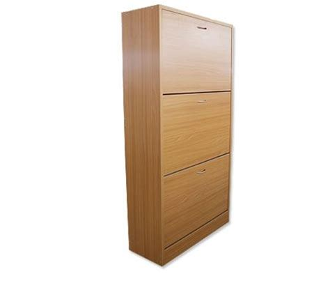 best deal on cabinets wooden shoe storage cabinet 3 racks beige bestdeals co nz