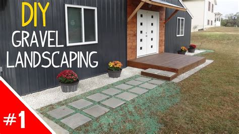 Diy Clean 'n Simple Gravel Landscaping