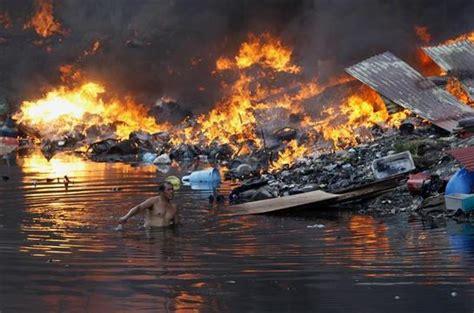 manila slum fire reuterscom