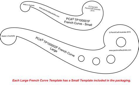 curve template pca templates craft supplies