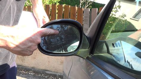 minuto  cambiar  cristal de espejo retrovisor