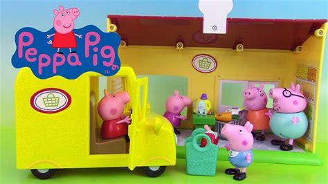 maison peppa pig jouet peppa pig jouets supermarch 233 supermarket truck playset