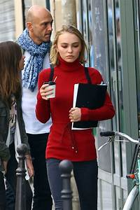Lily Rose Depp in Jeans -16 - GotCeleb