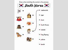 Korea Worksheets Activities, Games, and Worksheets for kids