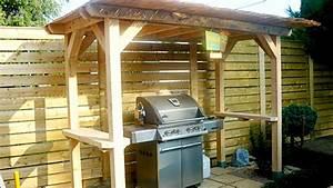 Abri Pour Barbecue Exterieur : comment construire un abri pour barbecue ~ Premium-room.com Idées de Décoration