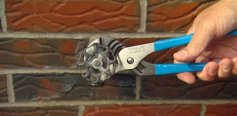 leaking outdoor faucet cap how to repair a leaking outdoor faucet hose bibb today s