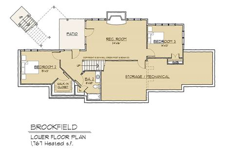 Brookfield Timber Frame Floor Plan By Mill Creek