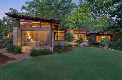 Texas Hill Country Ranch Home Offers A Water's Edge