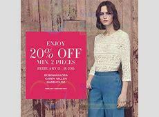Warehouse, Karen Millen & BCBGMaxazria 20% OFF Promo 13