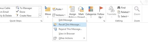 Office 365 Outlook Undo Send by How To Undo An Email In Gmail Or Outlook 365 In A Few