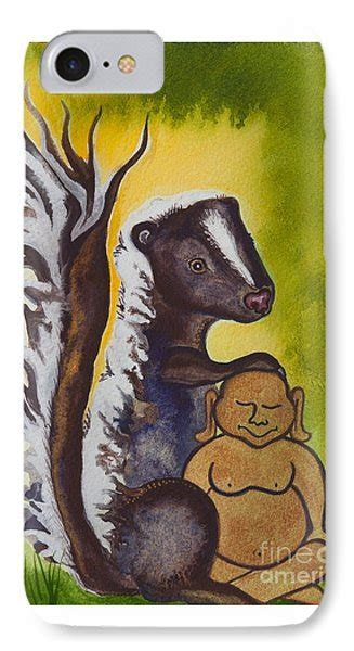 what type of paint to use on kitchen cabinets buddha and the skunk no 2275 painting by ilisa 2275