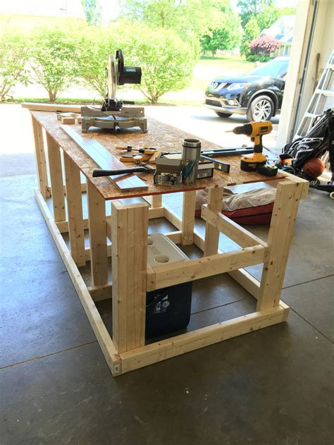 built  mobile workbench mobile workbench woodworking