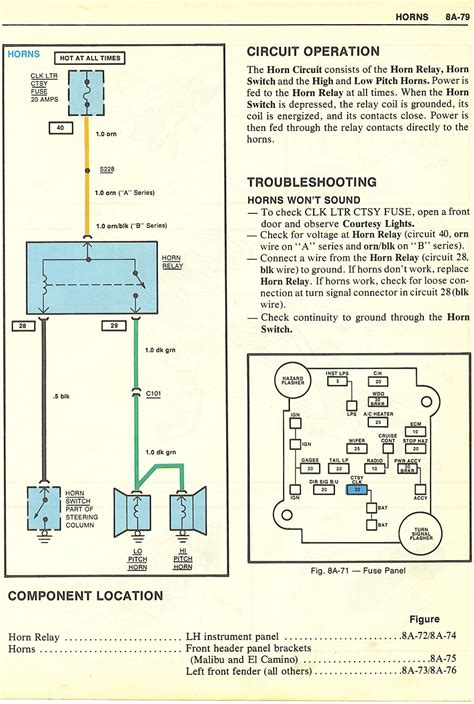 1980 Chevy Wiring by Headlight Dimmer Switch Wiring Diagram 1980 Chevy