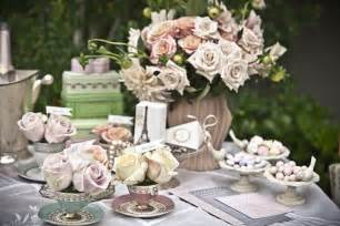 mariage vintage chic pretty tea bridal shower inspiration the sweetest occasion