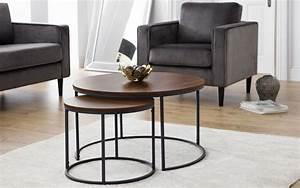 Bellini, Round, Nesting, Coffee, Table