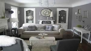 Cream And Grey Living Room – Modern House