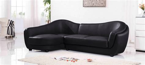 canaper d angle canapé d 39 angle gauche cuir noir colorado