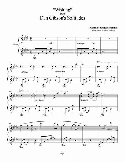 Dan Solitudes Gibson Wishing Herberman John Music