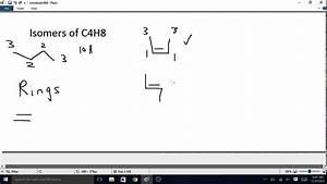 Pics For > C4h10 Isomers How Many