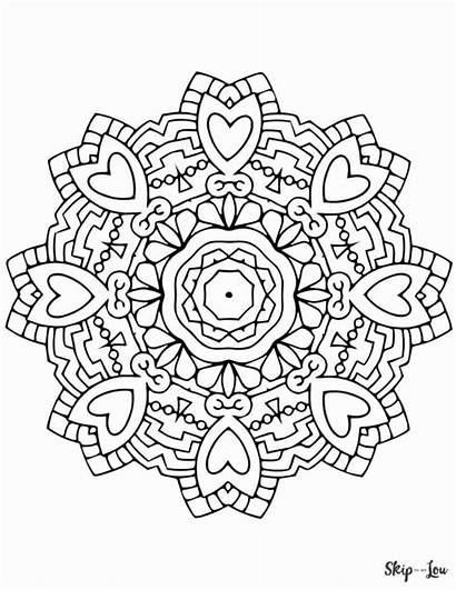 Mandala Coloring Pages Sheets Mandalas Colouring Printable