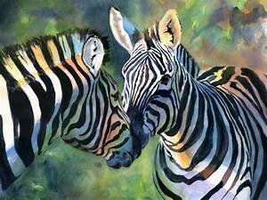 Rachel's Studio Blog: Zebra Painting and more wildlife!