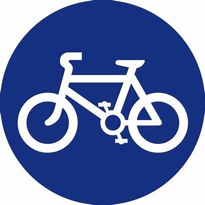 Signs Road Mandatory Sign Bicycle Compulsory Mauritius
