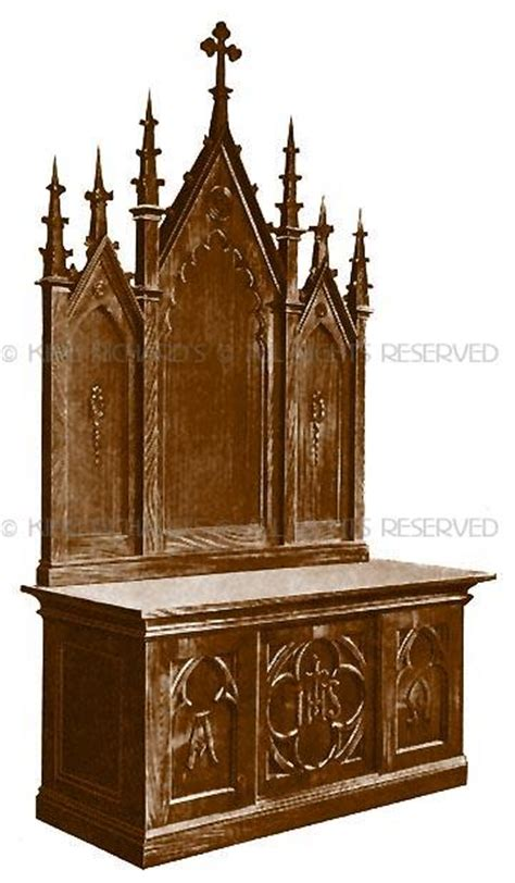 High-Altars-Side-Altars-Reredos-New - New Hand Carved Wood