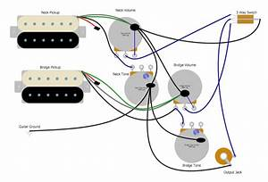 Wiring Diagram 3 Humbucker Les Paul