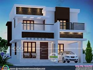 1600, Square, Feet, 3, Bedroom, Small, Flat, Roof, Home