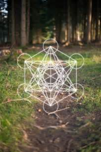 Metatron's Cube Sacred Geometry Tattoos