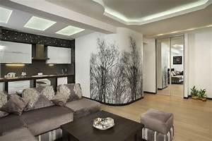 30 wohnzimmerw nde ideen streichen und modern gestalten for Zimmer tapezieren ideen
