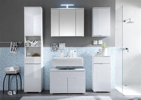 bad zubehör set bad spiegelschrank weiss inkl led beleuchtung 3 spiegelt 252 ren