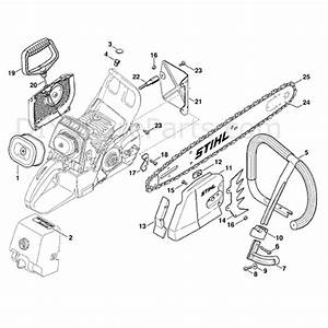 Stihl Ms 460 Chainsaw  Ms460 Magnum  Parts Diagram  Rescue
