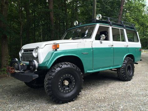 toyota land cruiser custom iron pig  road ready