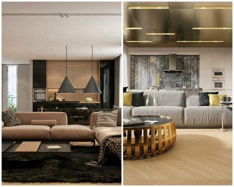 idee deco appartement avec de la texture en deux exemples