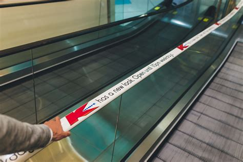 Ad-roller Wraps First Escalator Handrail For K-mart