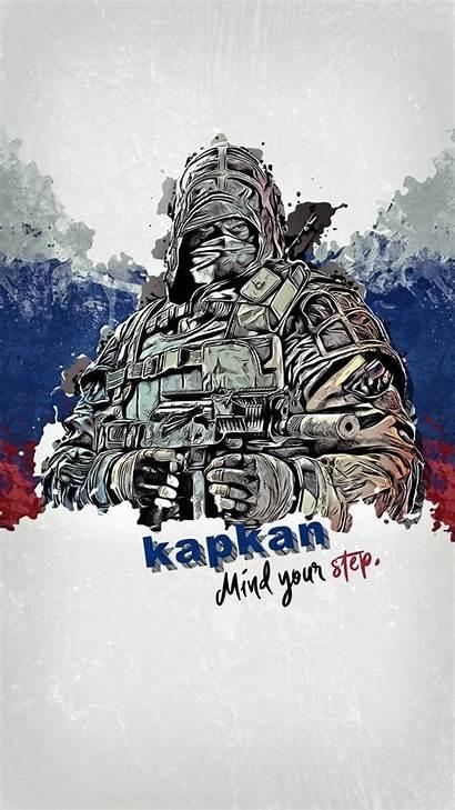 Siege Rainbow Kapkan Six Operator Wallpapers Zedge