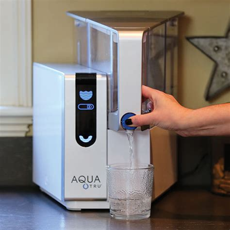 countertop water purifier aquatru countertop osmosis water purifier