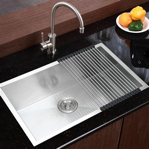 28 kitchen sink 28 quot x18 quot stainless steel kitchen sink 18 single bowl